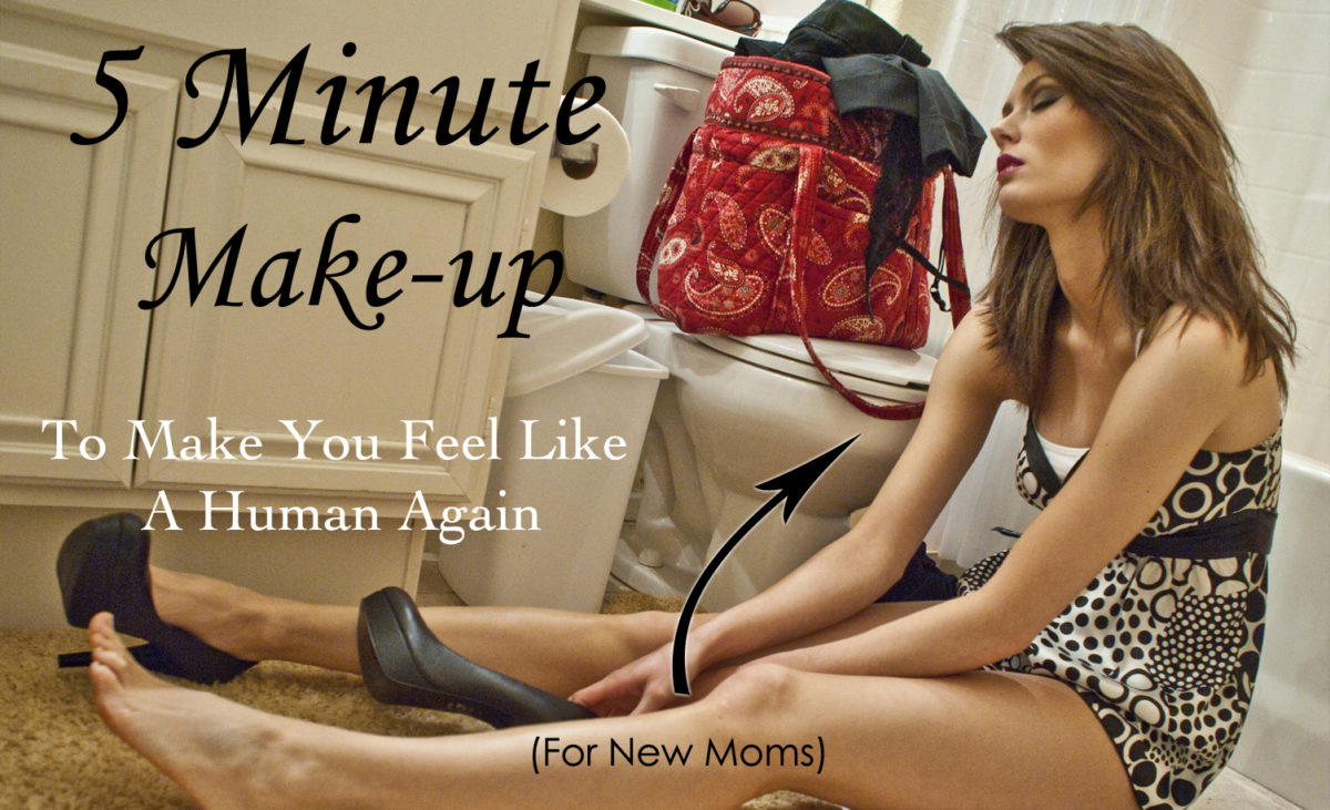 5 Minute Make-up to Make You Feel Like a Human Again