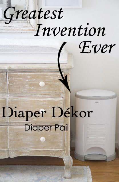 Greatest Invention Ever! Diaper Dékor – Diaper Pail