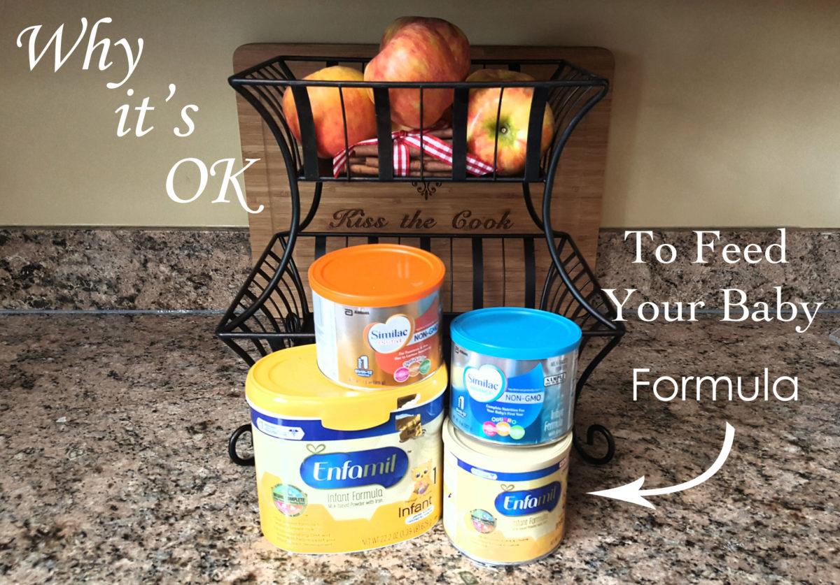 Why It's Okay To Feed Your Baby Formula